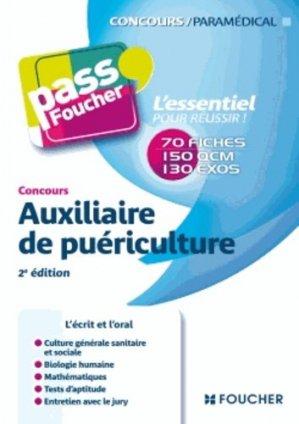 Auxiliaire de puériculture - foucher - 9782216118045 -
