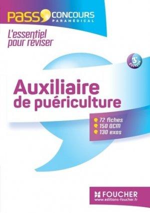 Auxiliaire de puériculture - foucher - 9782216128860 -