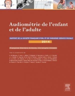Audiométrie de l'enfant et de l'adulte - elsevier / masson - 9782294744631 -