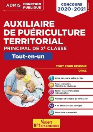 Auxiliaire de puériculture territorial - Catégorie C - Vuibert - 9782311206708