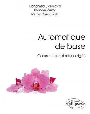 Automatique de base - ellipses - 9782340033016 -