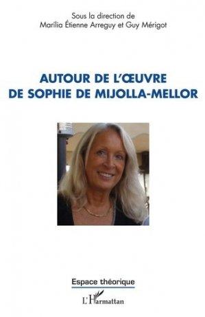 Autour de l'oeuvre de Sophie de Mijolla-Mellor - l'harmattan - 9782343204888 -