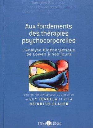 Aux fondements des thérapies psychocorporelles - enrick b - 9782356442383 -