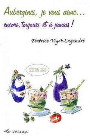 Aubergines, je vous aime - Editions Le Sureau - 9782364021662 -