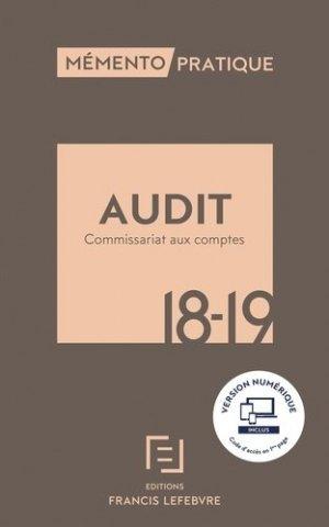 Audit. Commissariat aux comptes, Edition 2018-2019 - Francis Lefebvre - 9782368932421 -