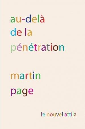Au-delà de la pénétration - Le nouvel Attila - 9782371000926 -