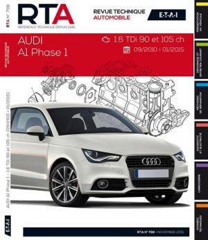 Audi A1 (09/2010 à 01/2015) 1.6Tdi 90 et 105CH - etai - editions techniques pour l'automobile et l'industrie - 9782726879856 -