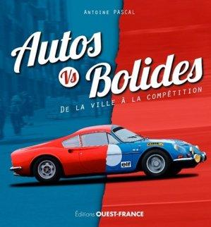 Autos vs bolides, de la ville a la competition - ouest-france - 9782737376252 -