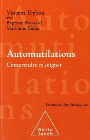 Automutilations - odile jacob - 9782738145949 -