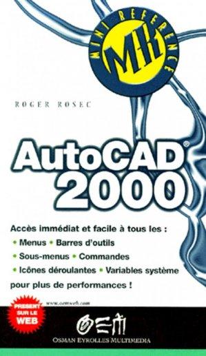 Autocad 2000 - osman eyrolles multimedia - 9782746401617 -