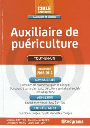 Auxiliaire de puériculture - studyrama - 9782759032266 -