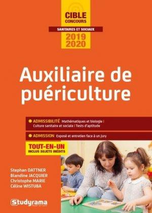 Auxiliaire de puériculture 2019 - 2020 - studyrama - 9782759040308 -