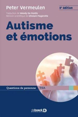 Autisme et émotions - de boeck - 9782807323742 -