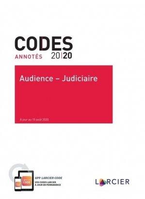 Audience - judiciaire - Éditions Larcier - 9782807923539 -