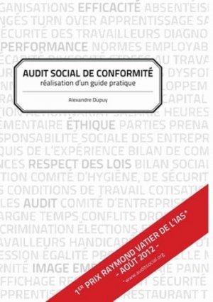 Audit social de conformité - Books on Demand Editions - 9782810626229 -