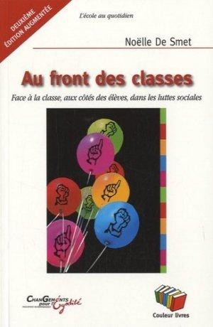 Au front des classes - Editions Couleur livres asbl - 9782870035238 -
