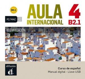 Aula internacional 4 - clé usb - maison des langues - 9788417249366