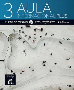 Aula internacional Plus 3 - Difusión Centro de Investigación y Publicaciones de Idiomas - 9788418032226 -