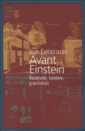 Avant Einstein - du seuil - 9782020672924 -