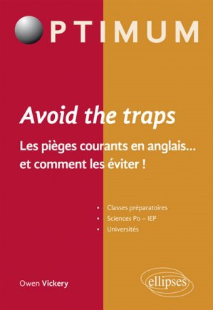 Avoid the Trap - ellipses - 9782340023741 -