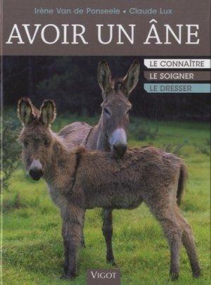 Avoir un âne - vigot - 9782711421848 -