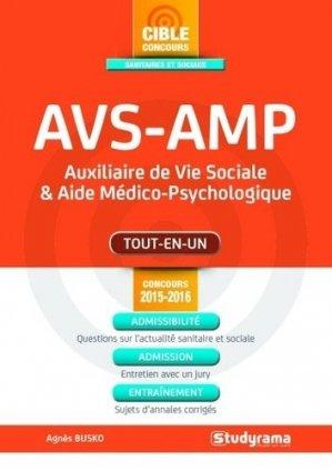AVS-AMP - Concours 2015-2016 - studyrama - 9782759029471 -