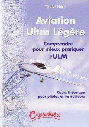 Aviation ultra légère - cepadues - 9782854287561 -