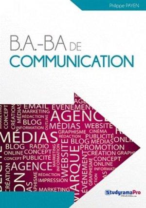 B.a.-Ba de communication - Studyrama - 9782759015955 -
