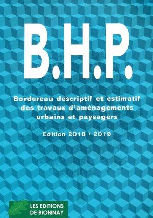 BHP - horticulture et paysage - 9782917465592 -