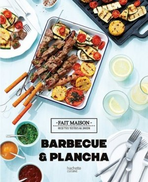 Barbecue & plancha - Hachette - 9782011714084 -