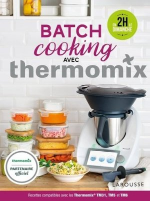Batch Cooking Thermomix - Larousse - 9782035982025 -
