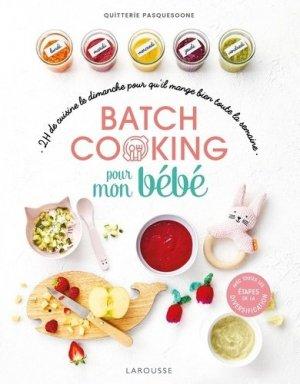 Batch cooking pour mon bébé - Larousse - 9782035985989 -