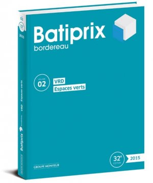 Batiprix 2015 Volume 2 - groupe moniteur - 9782281117882 -