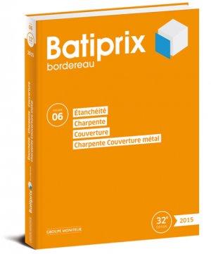 Batiprix 2015 Volume 6 - groupe moniteur - 9782281117929 -