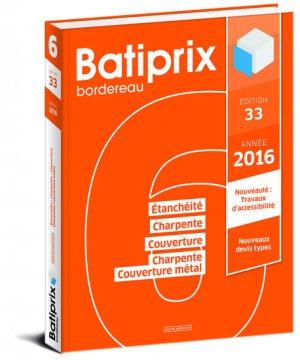 Batiprix 2016 Volume 6 - groupe moniteur - 9782281119831 -