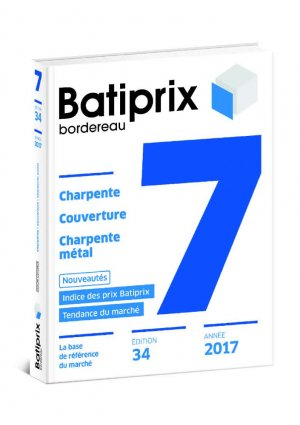 Batiprix 2017 Volume 7 - groupe moniteur - 9782281141177