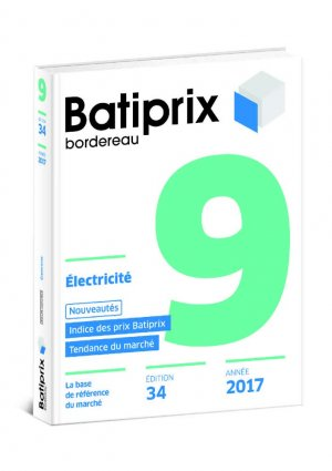 Batiprix 2017 Volume 9 - groupe moniteur - 9782281141191 -