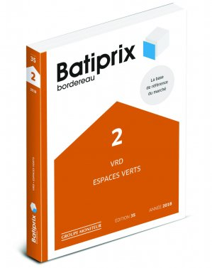 Batiprix 2018 Volume 2 - groupe moniteur - 9782281141740