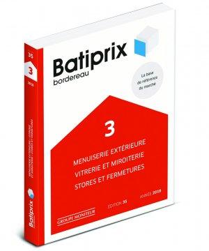 Batiprix 2018 Volume 3 - groupe moniteur - 9782281141757 -