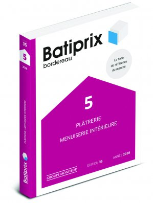 Batiprix 2018 Volume 5 - groupe moniteur - 9782281141771 -