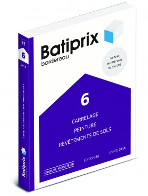 Batiprix 2018 Volume 6 - groupe moniteur - 9782281141788