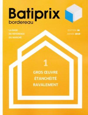 Batiprix 2019 Volume 1 - groupe moniteur - 9782281142297 -