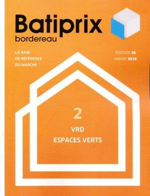 Batiprix 2019 Volume 2 - groupe moniteur - 9782281142303 -