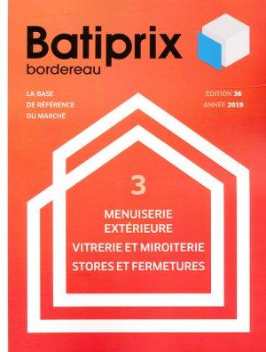 Batiprix 2019 Volume 3 - groupe moniteur - 9782281142310 -