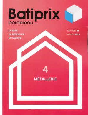 Batiprix 2019 Volume 4 - groupe moniteur - 9782281142327 -
