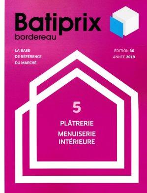 Batiprix 2019 Volume 5 - groupe moniteur - 9782281142334 -