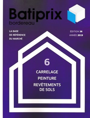 Batiprix 2019 Volume 6 - groupe moniteur - 9782281142341