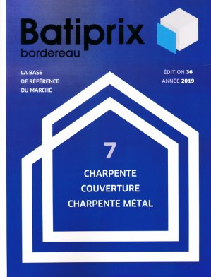 Batiprix 2019 Volume 7 - groupe moniteur - 9782281142358