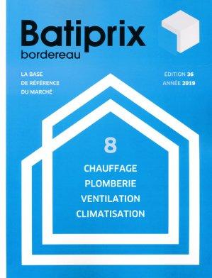 Batiprix 2019  Volume 8 - groupe moniteur - 9782281142365 -