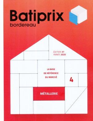 Batiprix 2020 Volume 4 - groupe moniteur - 9782281143614 -